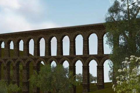 Construcción Acueducto Romano