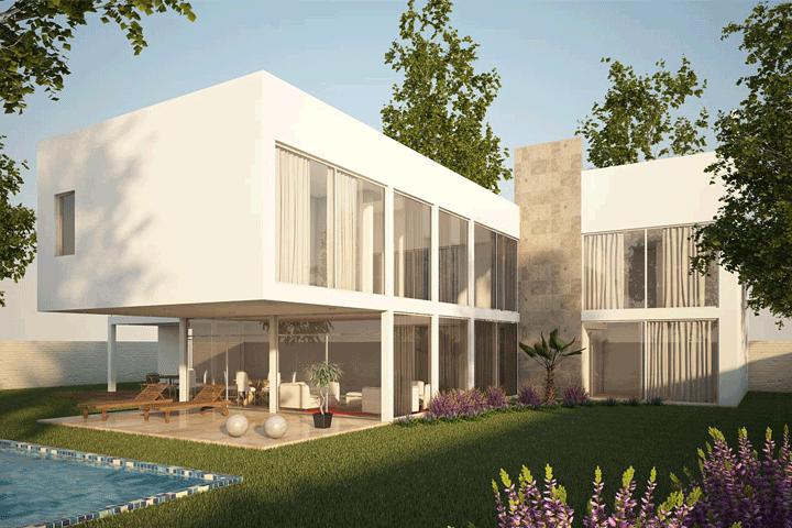 Render 3D Inmobiliario Chile