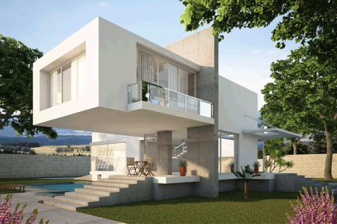 Casa 3D Exterior 02