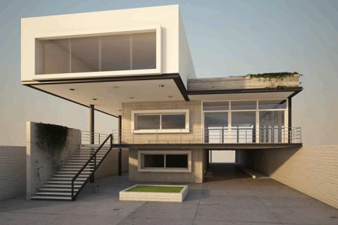 Casa Departamento 3D